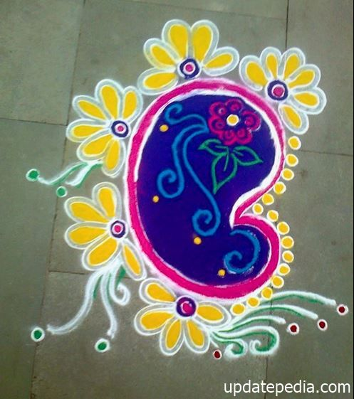 50+ Best { Rangoli Designs } Images for Competition
