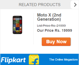 50% Flat Discount on Moto 2nd Generation Phones
