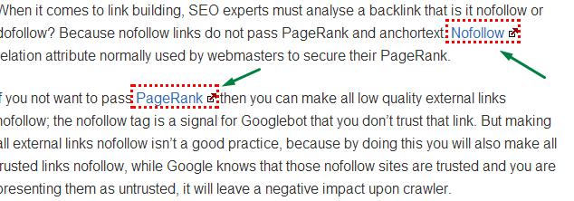 Nofollow link Benefits, Nofollow link value, Nofollow link seo