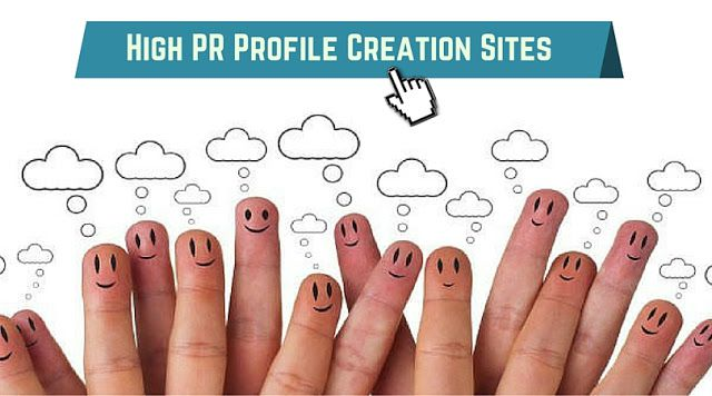 Top 200+ High PR Do Follow Profile Creation sites for SEO