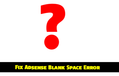 adsense showing blank ads, google adsense blank ads