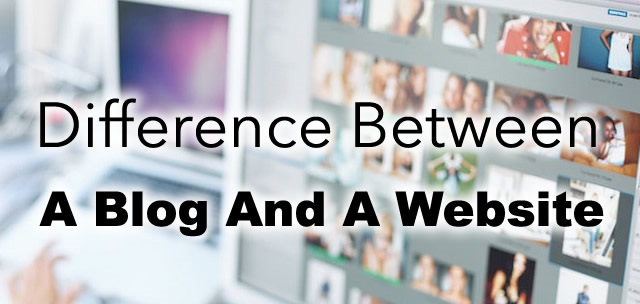 5 Secret Difference between Blog and website must know, difference between website portal and blog, differene between personal website and blog.