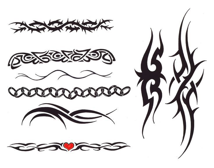 Simple Black And White Tattoos Designs Ideas For Men