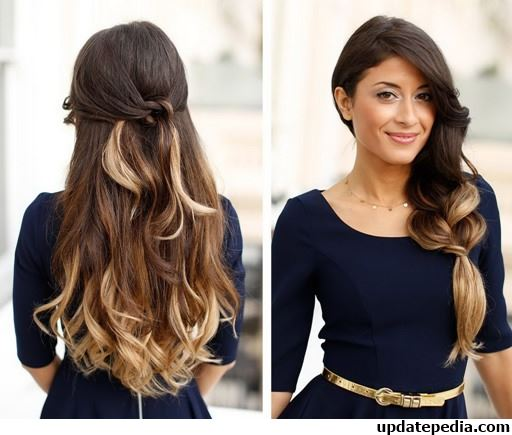 Simple Hairstyles Wedding Hairstyles Bridal Hairstyles Easy Hair Style Long  Hair Style Short Hair Hairstyles Bridal