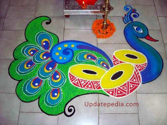 Happy New Year Rangoli Design Gallery 58