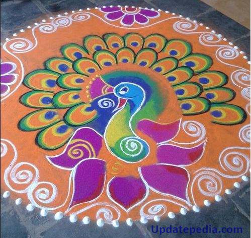Happy New Year Best Rangoli 61