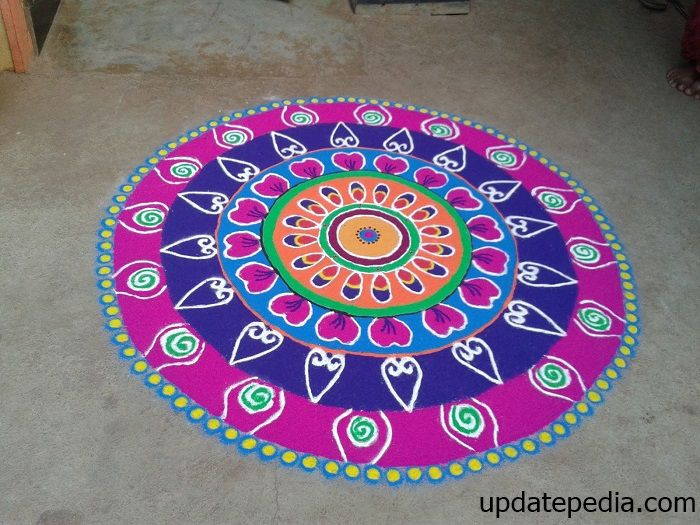 50 Best Rangoli Designs Images For Competition