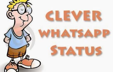 Clever Status in Hindi & English Best Clever Status for Whatsapp in Hindi Clever Status for Facebook in English Two Line Status on Clever About Life One Line Clever Status for Instagram Short Clever Status in Hindi For Boys / Girls Funny Clever Status For Friend in English Cute Clever Status For Girlfriend / Boyfriend Clever Status in English For Love 1000+【Clever Status】in Hindi & English - Latest Collection Get the Updated collection of Clever Status in Hindi & English to Share with your Friend, Girlfriend, Boyfriend, GF, BF, Love on Facebook, Whatsapp or Instagram.and More Special by our Short Two Line Clever Status About Life Collection.