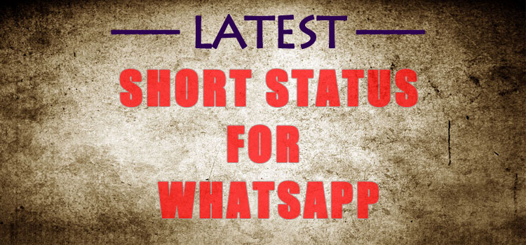 75+ Short Status in English & Hindi For【Whatsapp & Facebook】