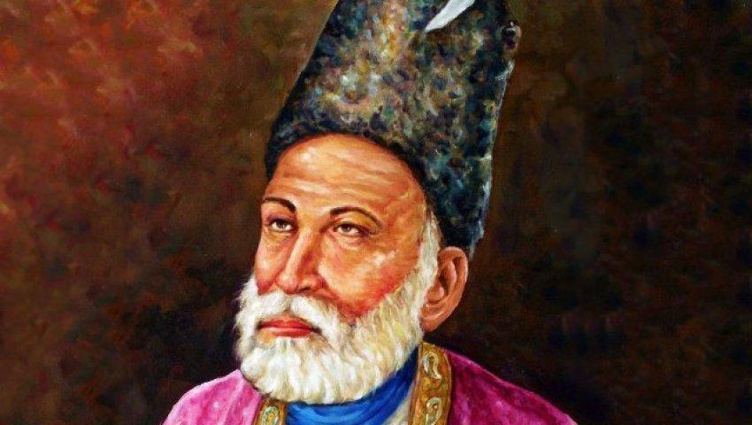 Mirza Ghalib Shayari in Hindi, Two line mirza ghalib shayari