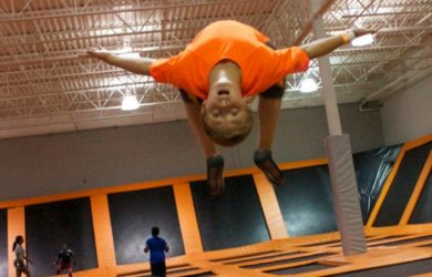 5 Health Benefits of Trampoline Jumping